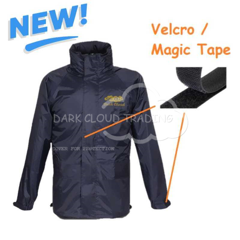 【Raincoat - New Design (Velcro) 】