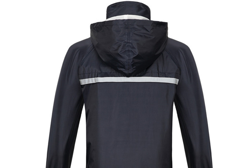 Raincoat (Dark Blue - Button Design)